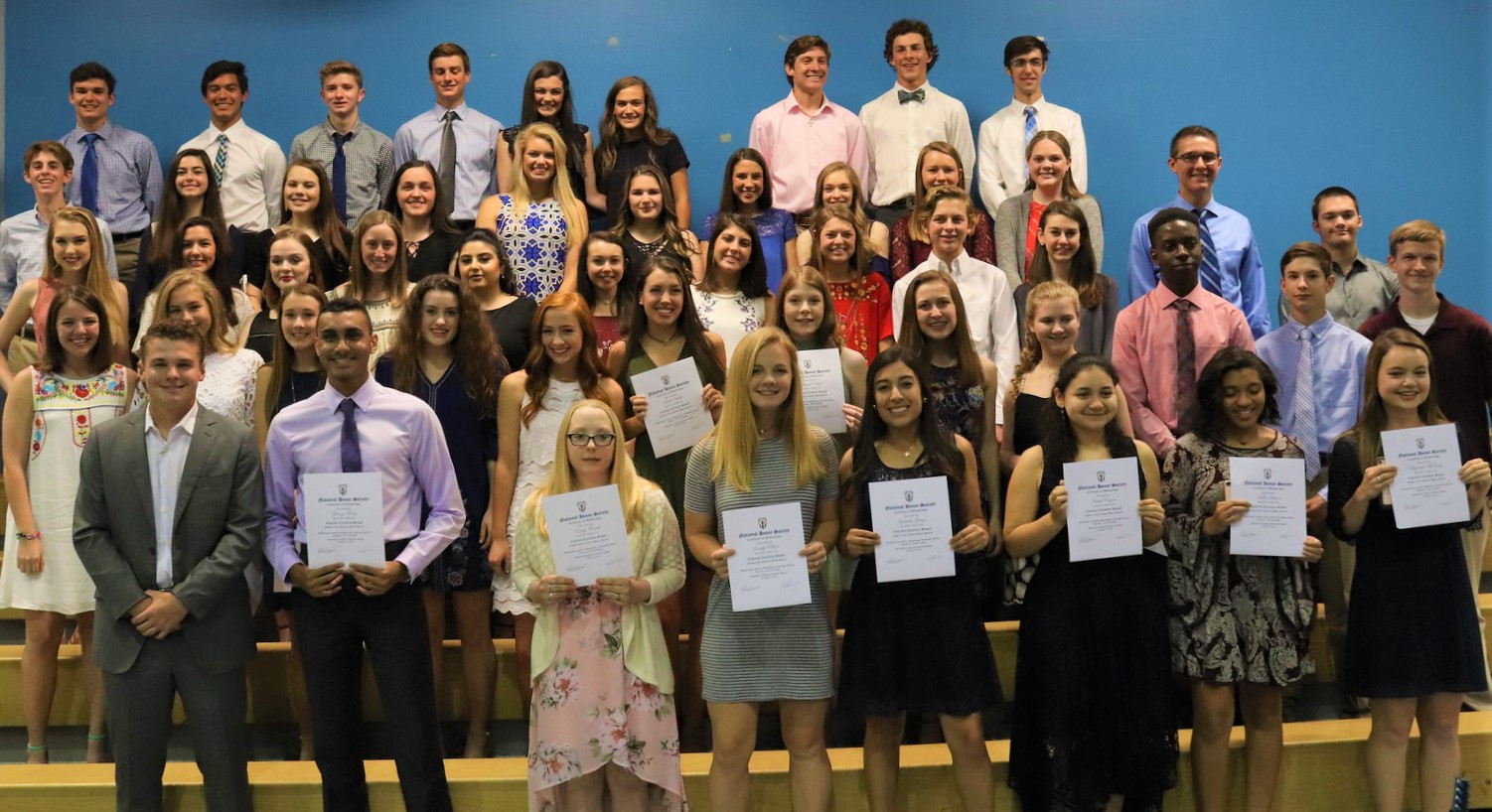 NHS Welcomes New Members