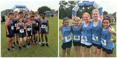 Middle School Cross Country Crosses the Finish Line