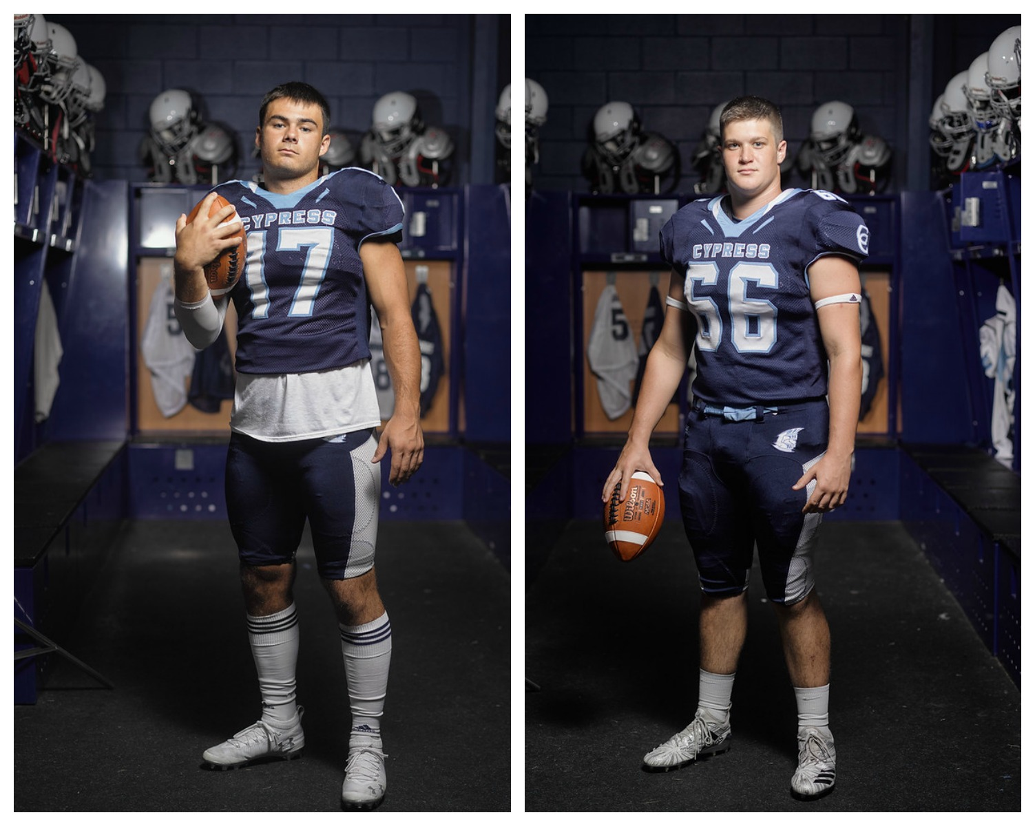 Seniors Fleischhauer & Townsend to Play College Football