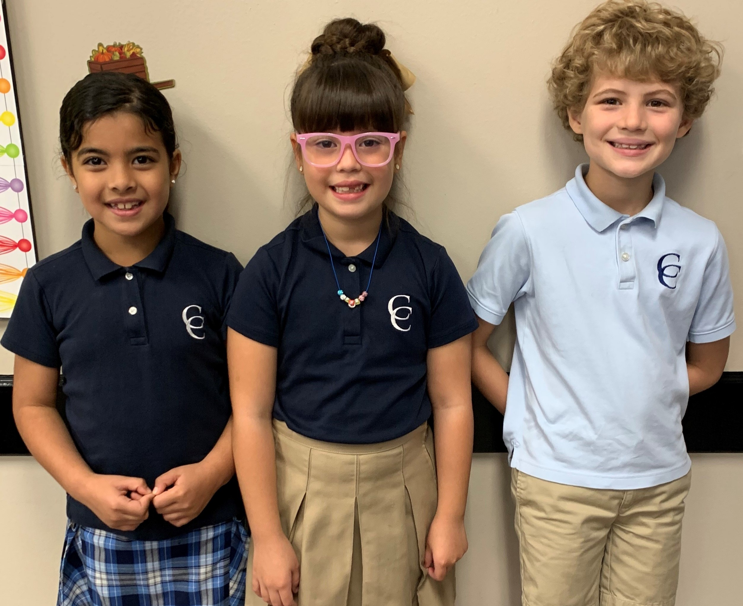 Elementary ACSI Spelling Bee District Winners