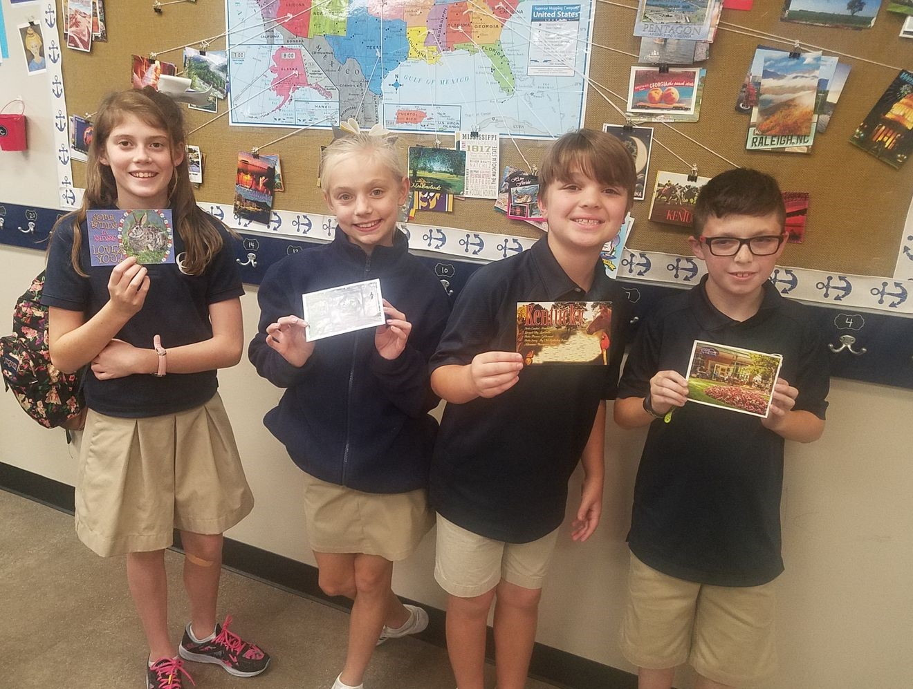 Fourth-Grade Postcard Challenge