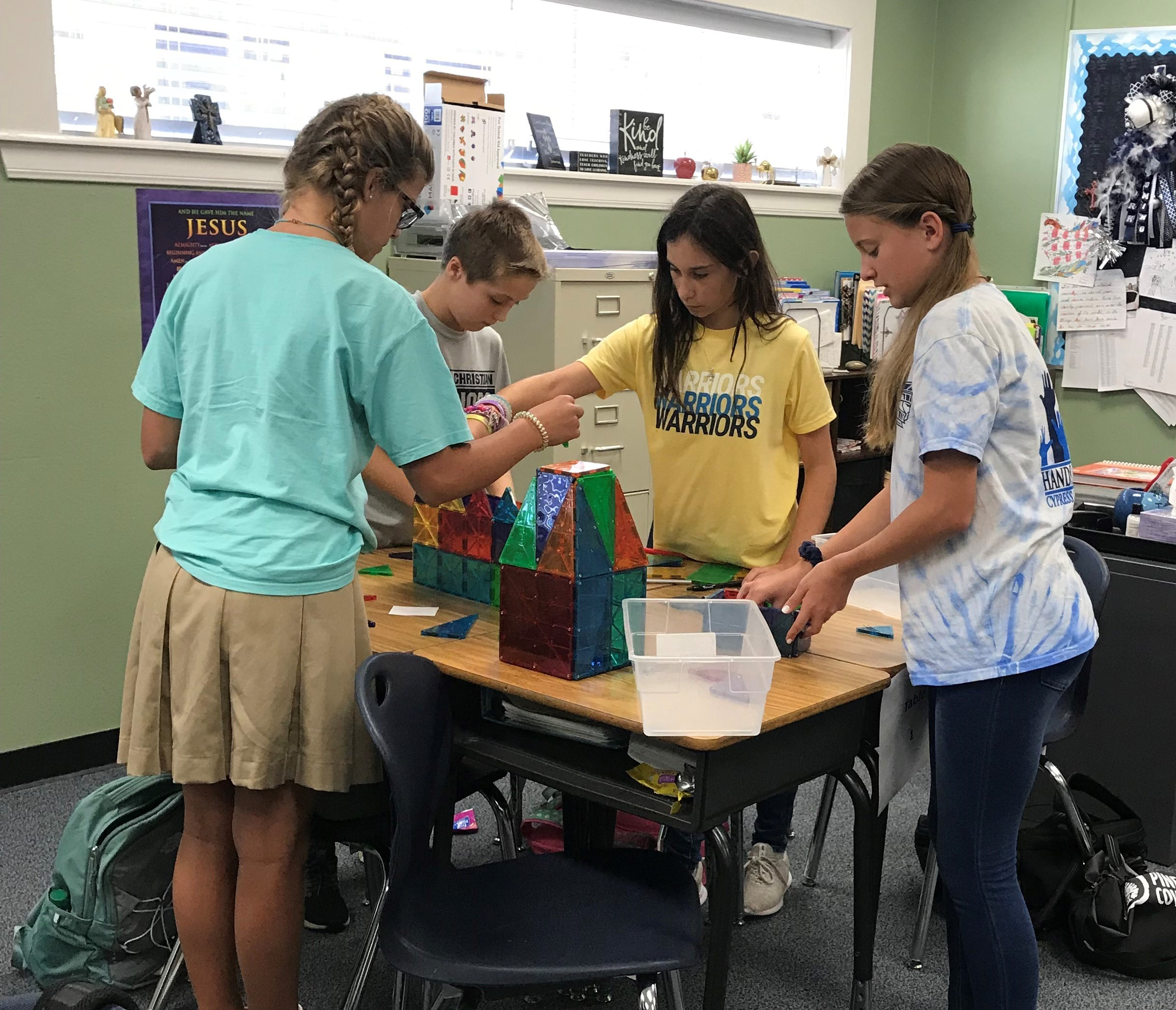 Sixth-Grade Design Thinking