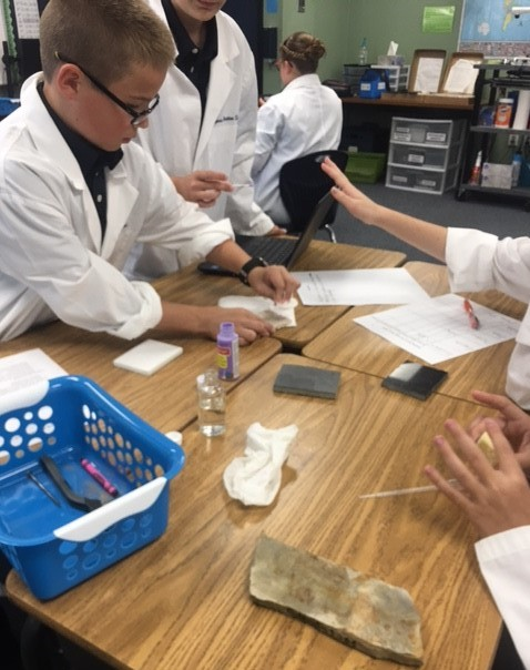 Sixth Grade Science Rocks!
