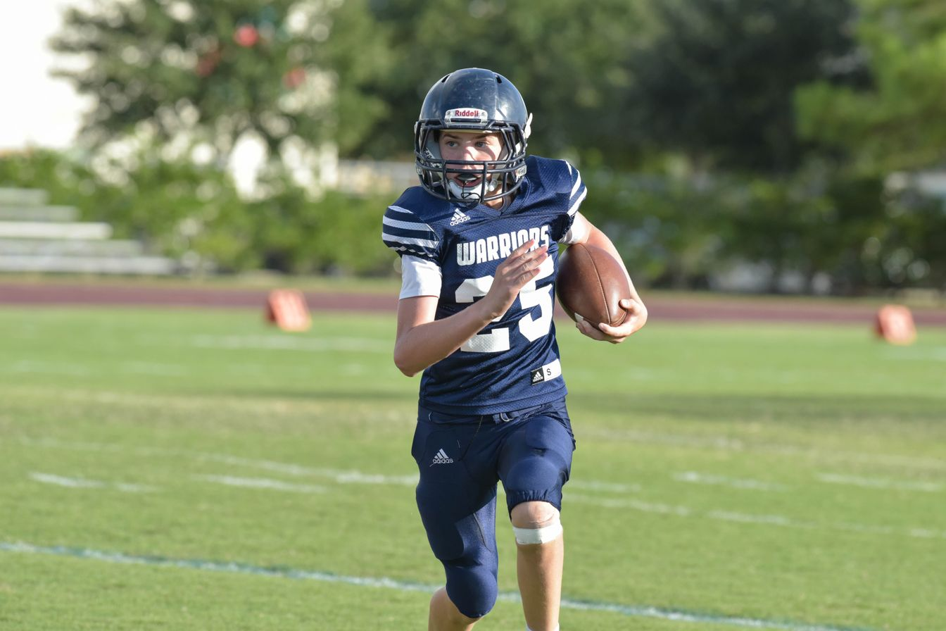 Middle School Football Teams Continue Strong Seasons