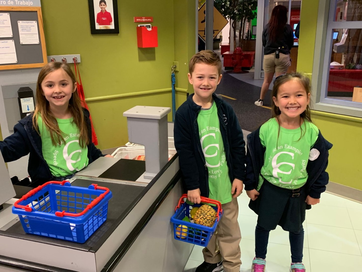First Graders Visit the Children's Museum