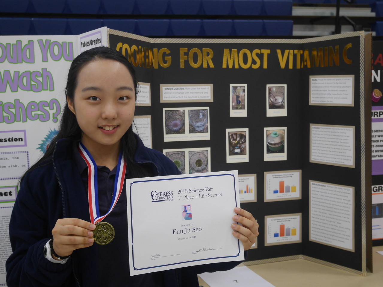 Fall 2018 Science Fair Winners