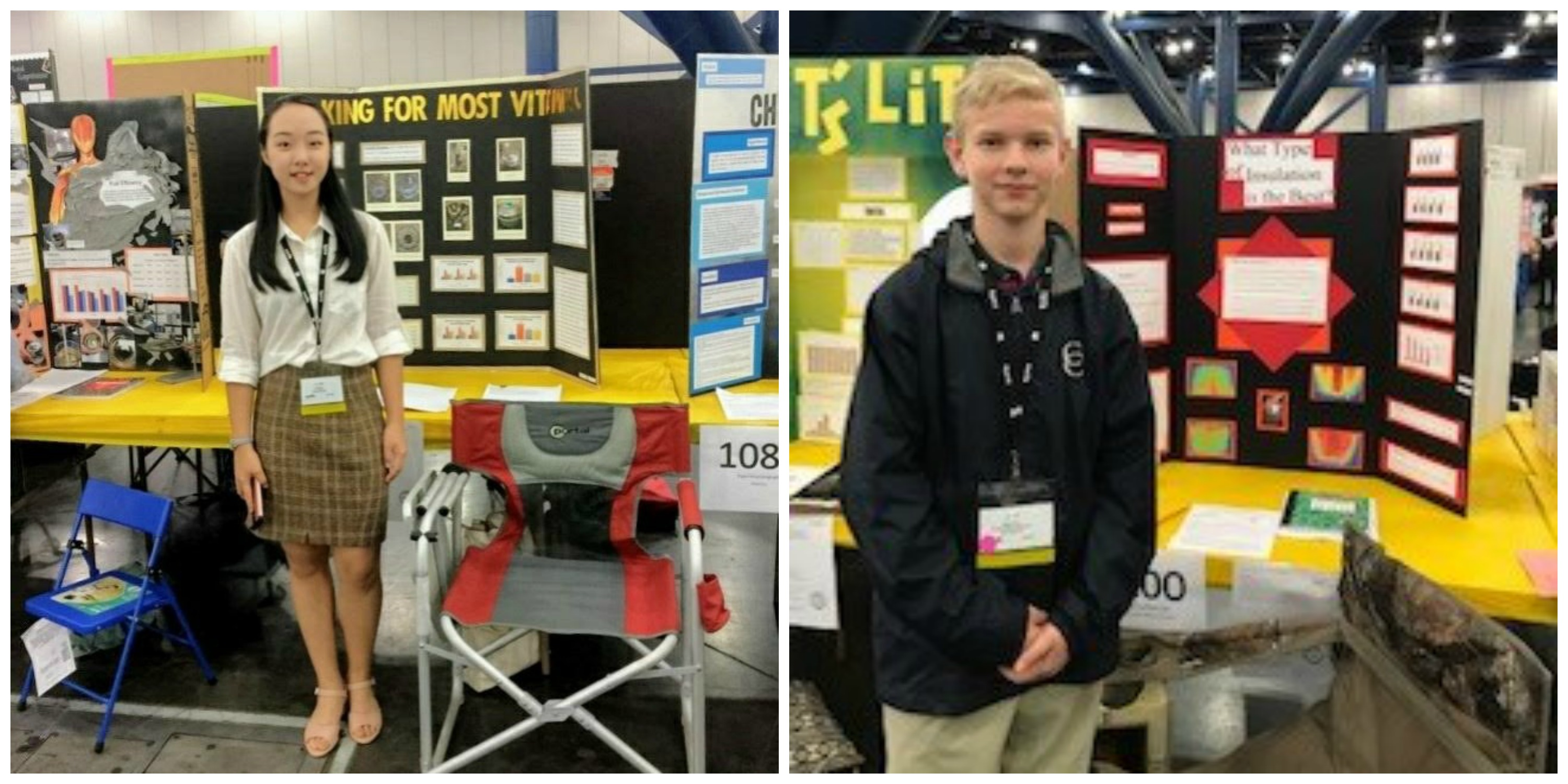 MS Students Participate in the Science & Engineering Fair of Houston