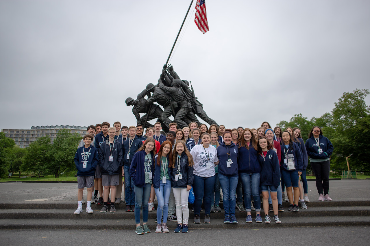 Eighth-Graders Visit Washington, D.C.