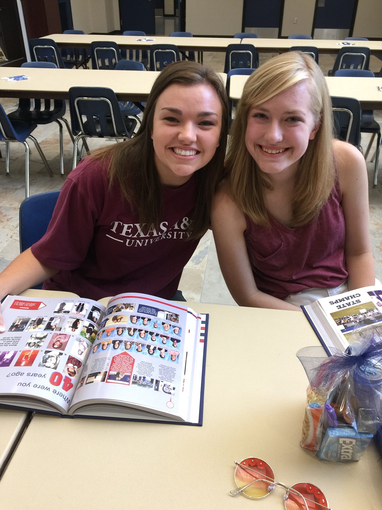 Class of 2018 Yearbook Signing & College Send-Off