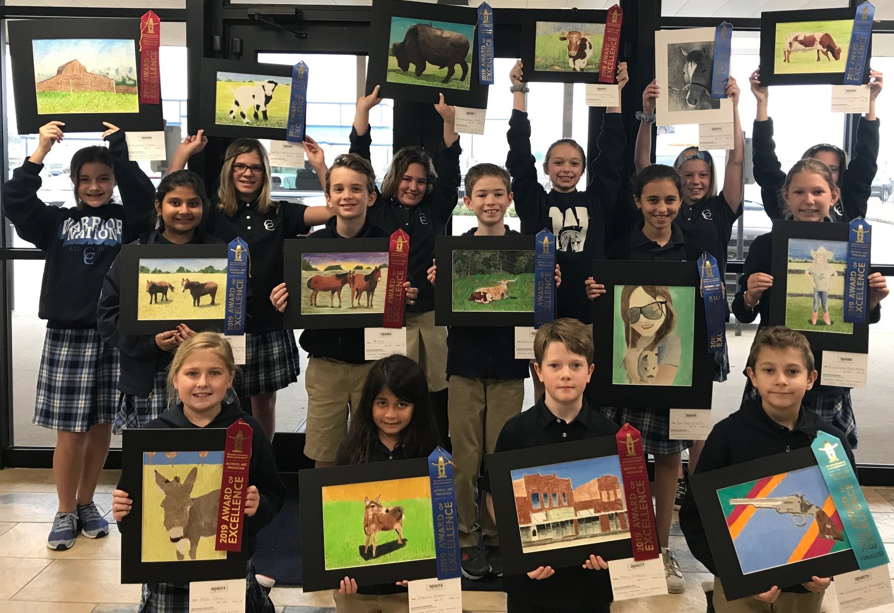 Elementary Rodeo Art Winners