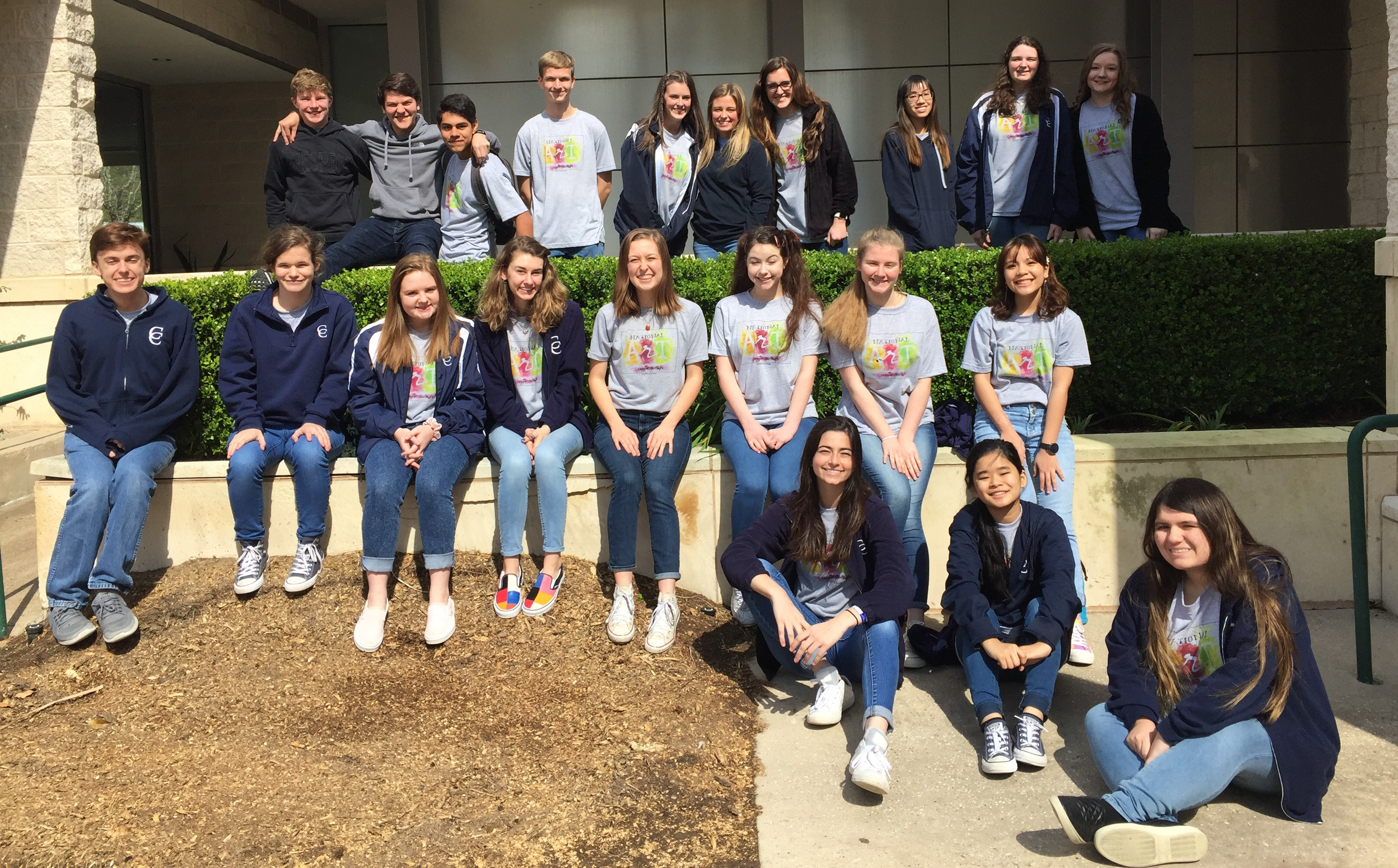 National Art Honor Society Field Trip to the Pearl Museum of Fine Arts