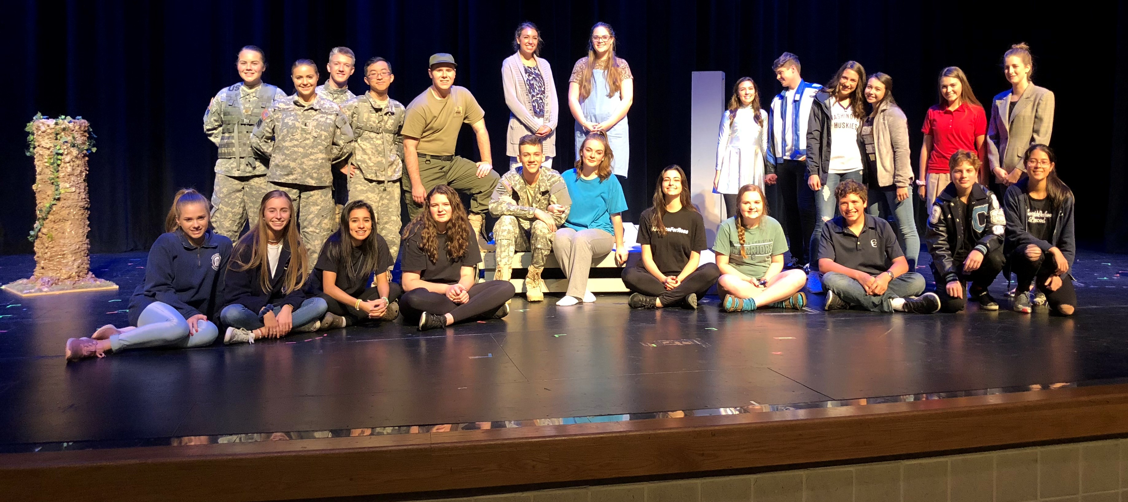 Drama Students Win Awards for District One Act Play