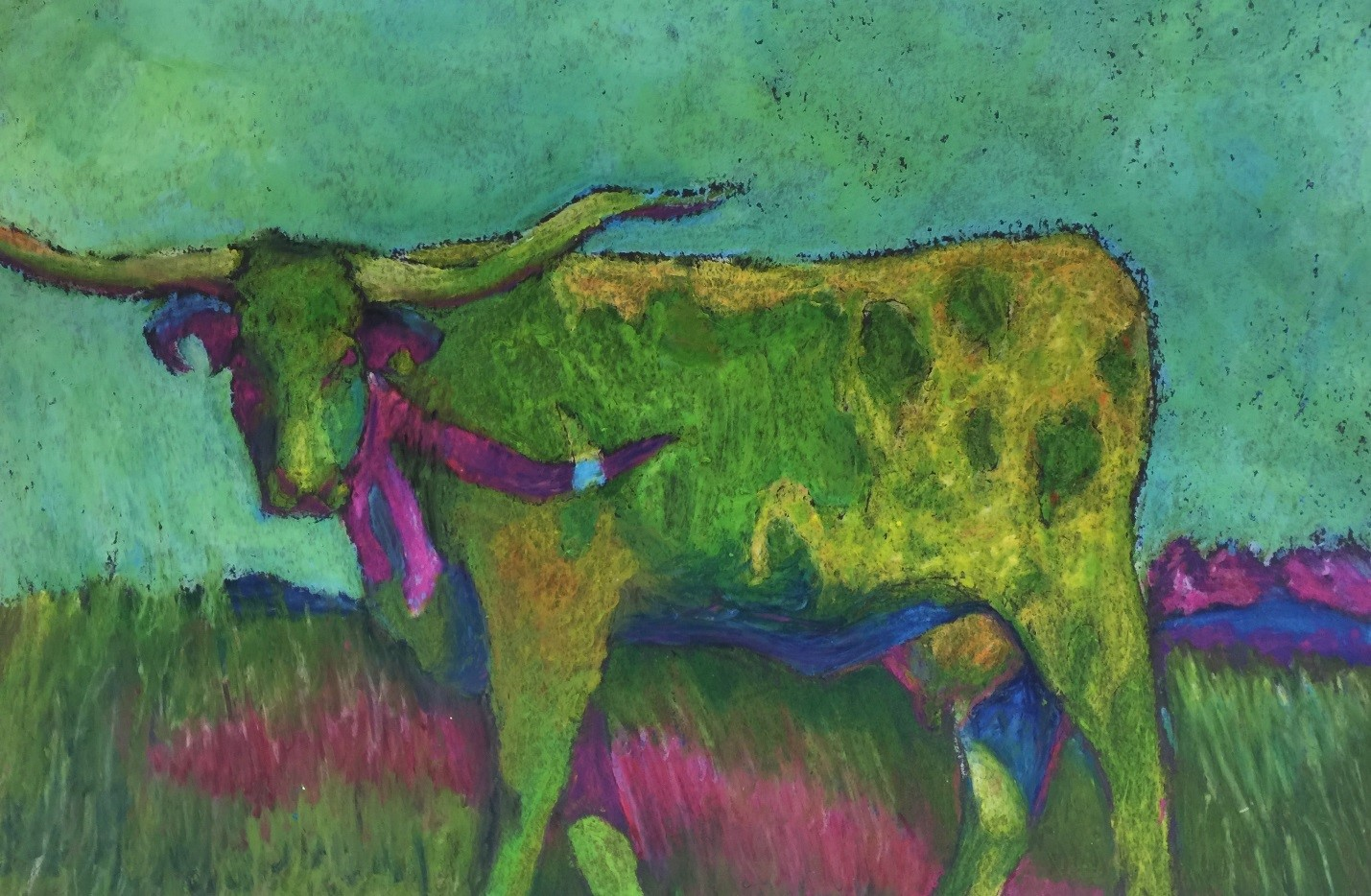 Houston Livestock Show & Rodeo Art Contest Winners - Grades 8-12