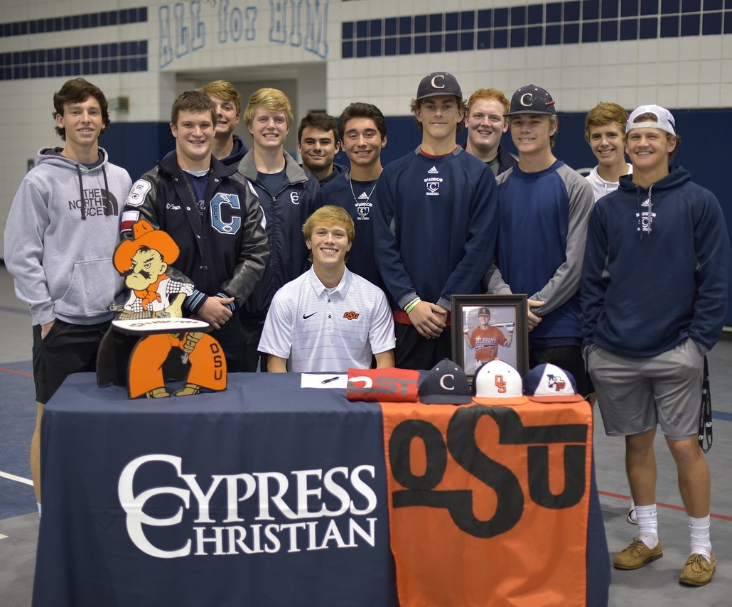 Senior JT Mounce Signs with Oklahoma State University