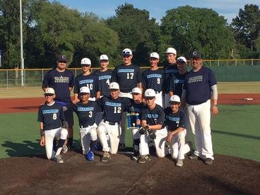 Warrior MS A Baseball Team Earns Second in District for 2017
