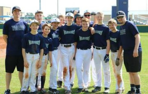Warriors MS B Baseball Earns Victory over Premier Futures