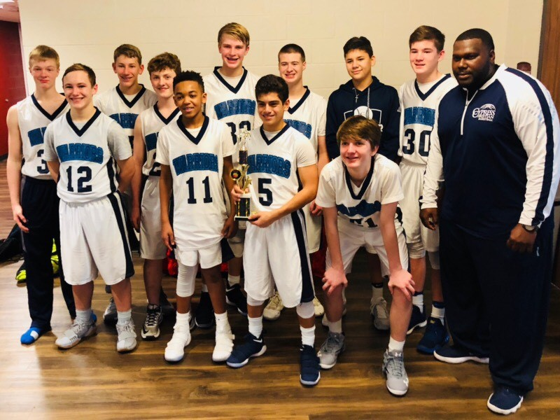 MS Boys Basketball A Team Finishes Third in District