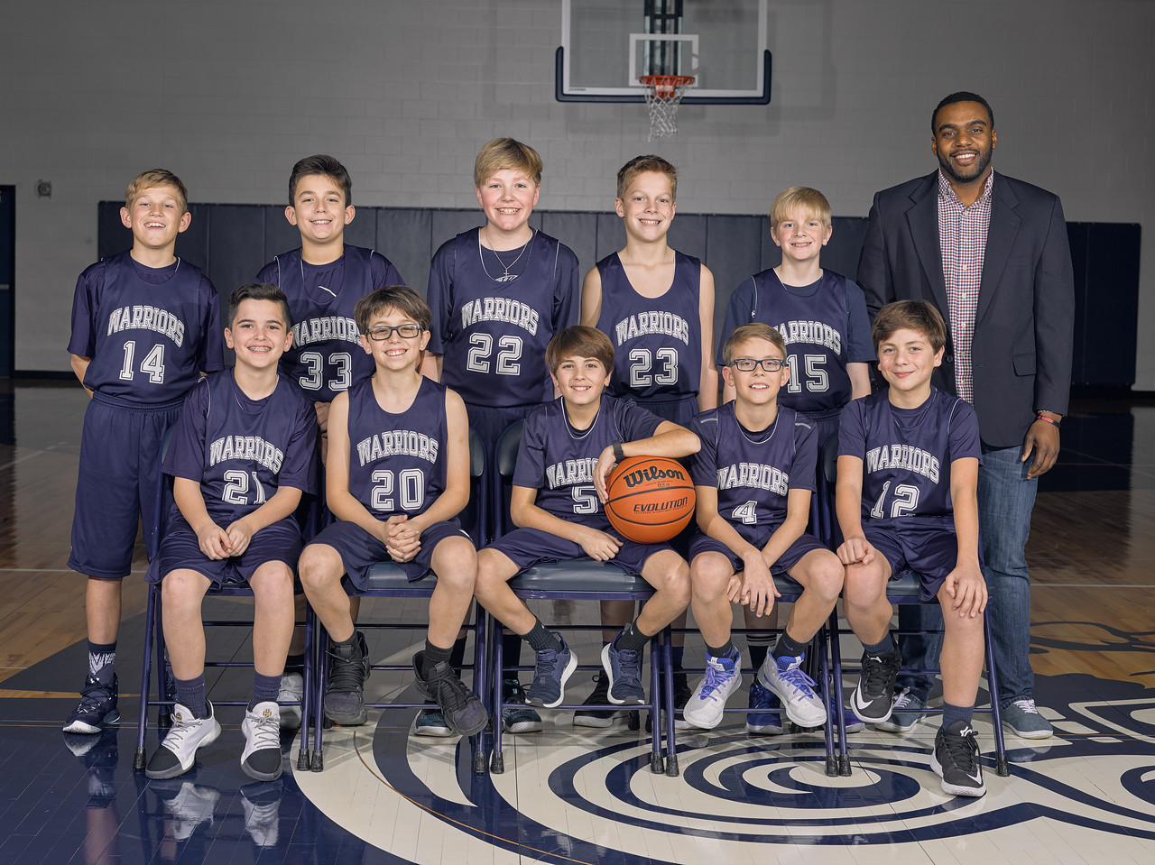 MS Boys Basketball B Team Finishes the Season
