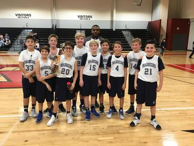 MS Boys Basketball C Team Finishes Strong