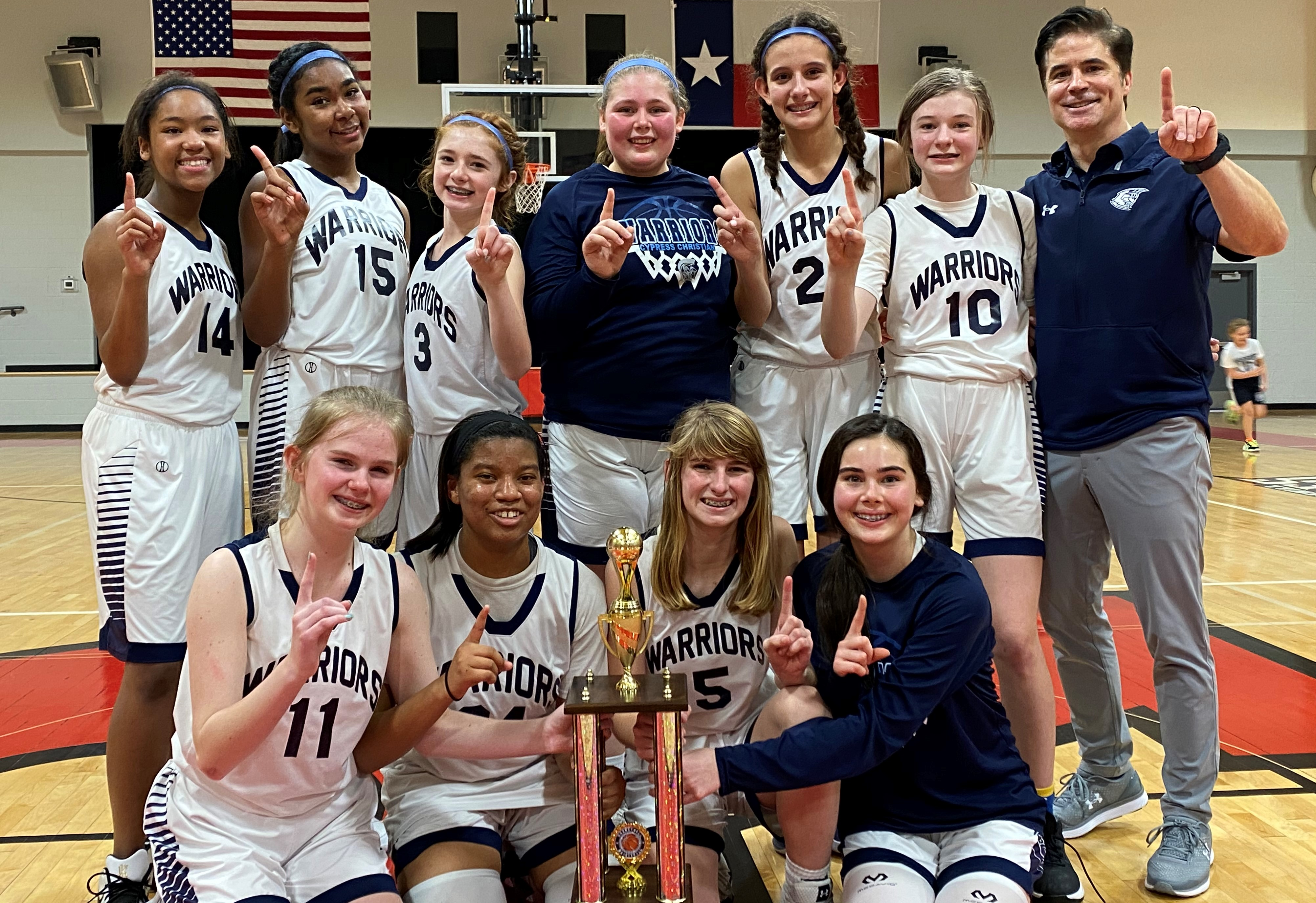 MS Girls Basketball Teams Finish Season Strong