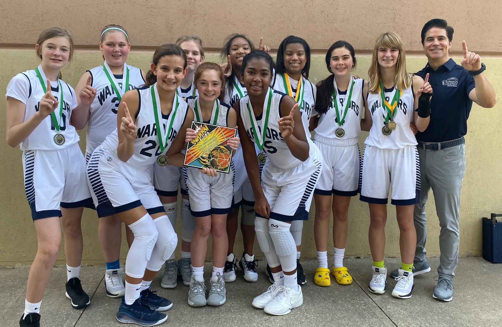 MS A Girls Basketball Takes Top Spot in FBCA Turkey Shootout Tournament