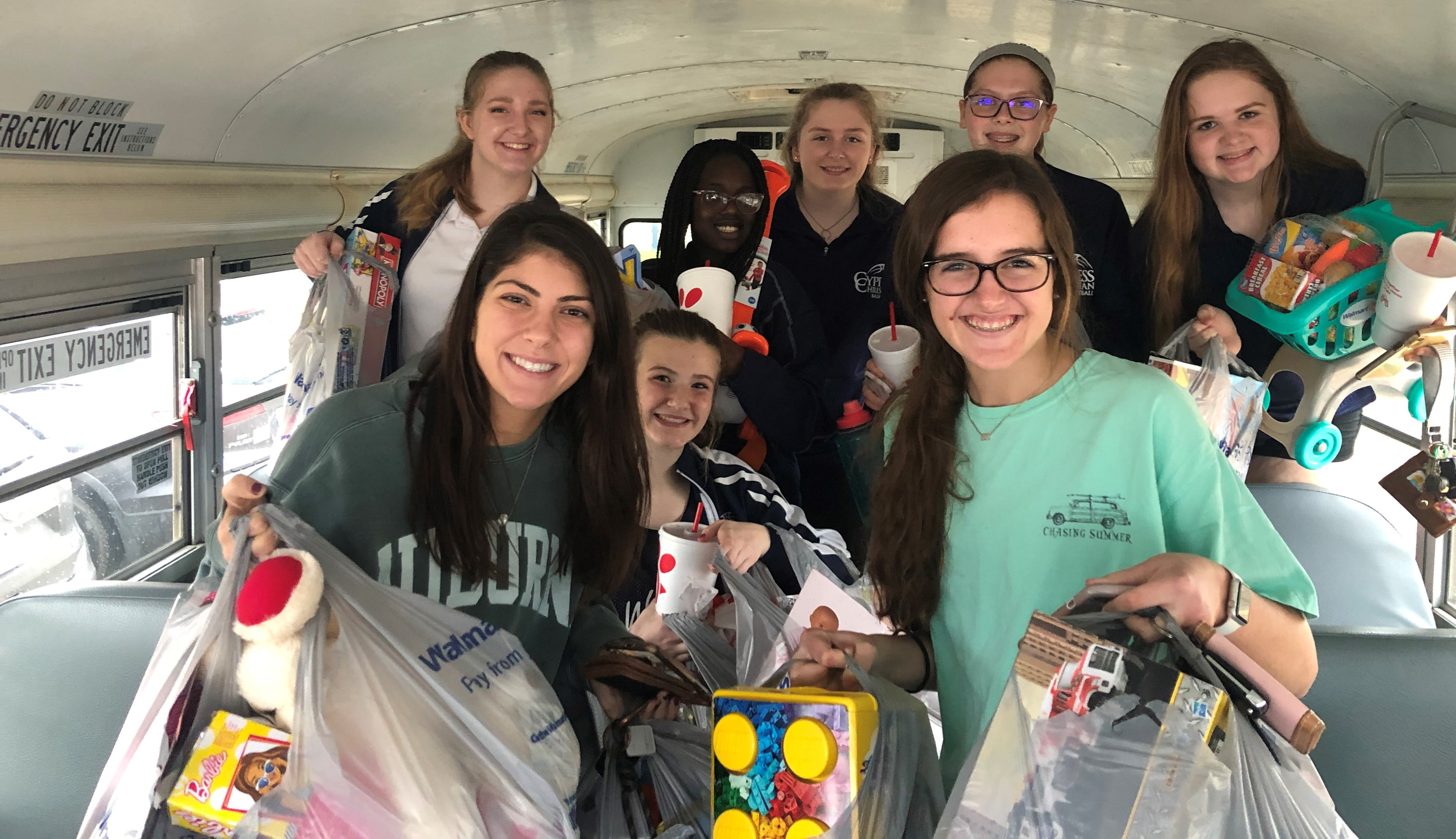 Lady Warriors Give to Mission of Yahweh