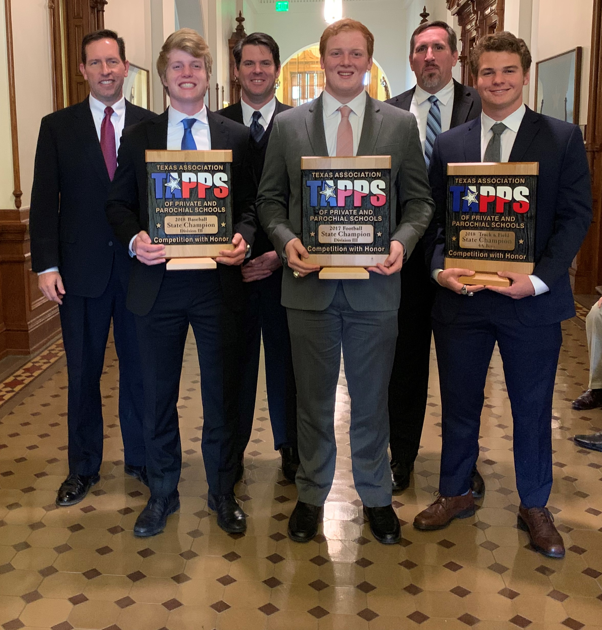 CCS State Championships Recognized by the Texas House of Representatives