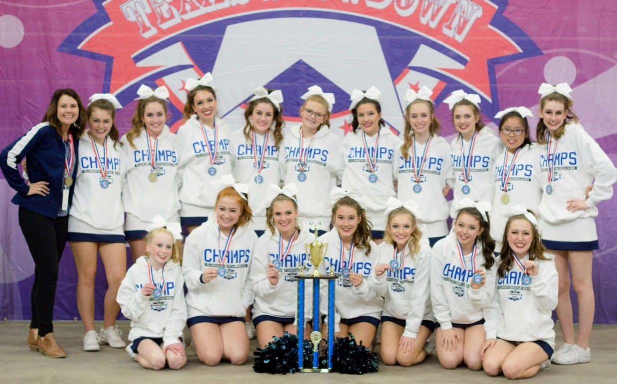 CCS Warrior Varsity Cheerleaders are FCC Champions!