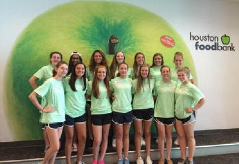 Varsity Cheer Summer 2016 Service Project