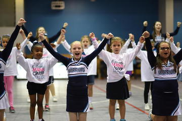 Junior Pep Squad Winter 2017