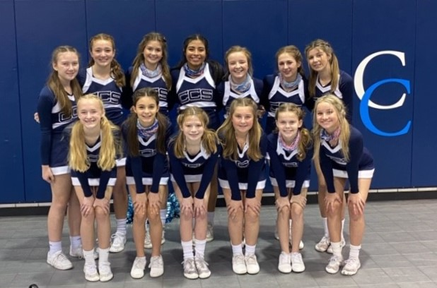 MS Cheer Finishes a Great Season