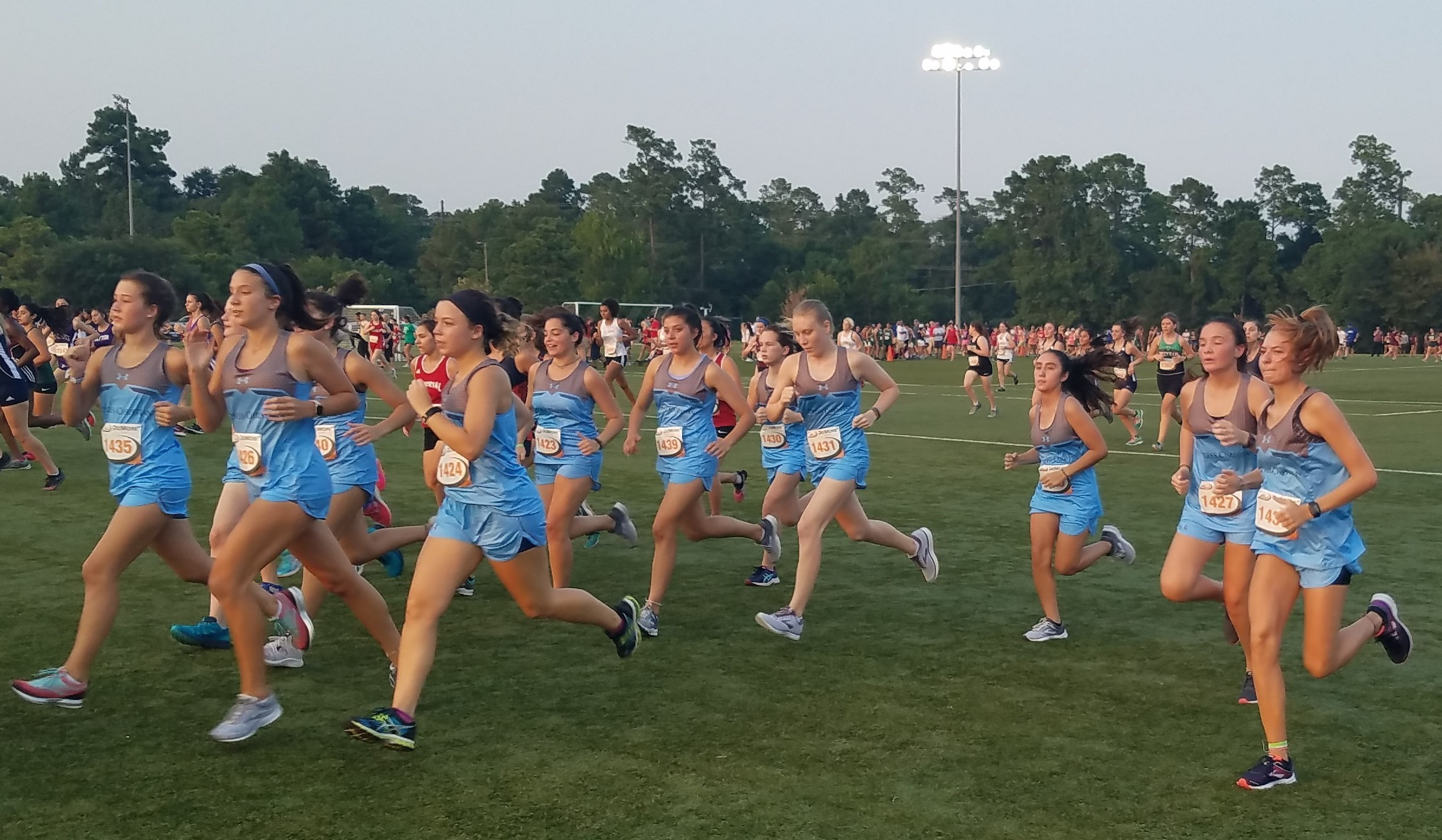 Cross Country Teams Compete