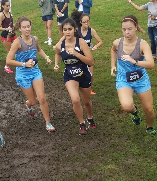 Cross Country Runners Face Tough Course