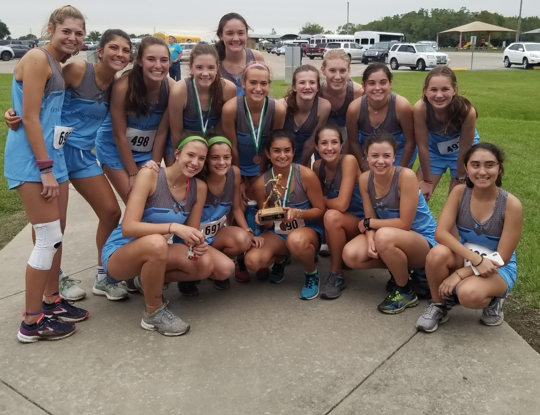 Cross Country Girls Team are District Champions