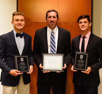 TD Club Honors Josh Holl, Austin Henry and Coach Spenn