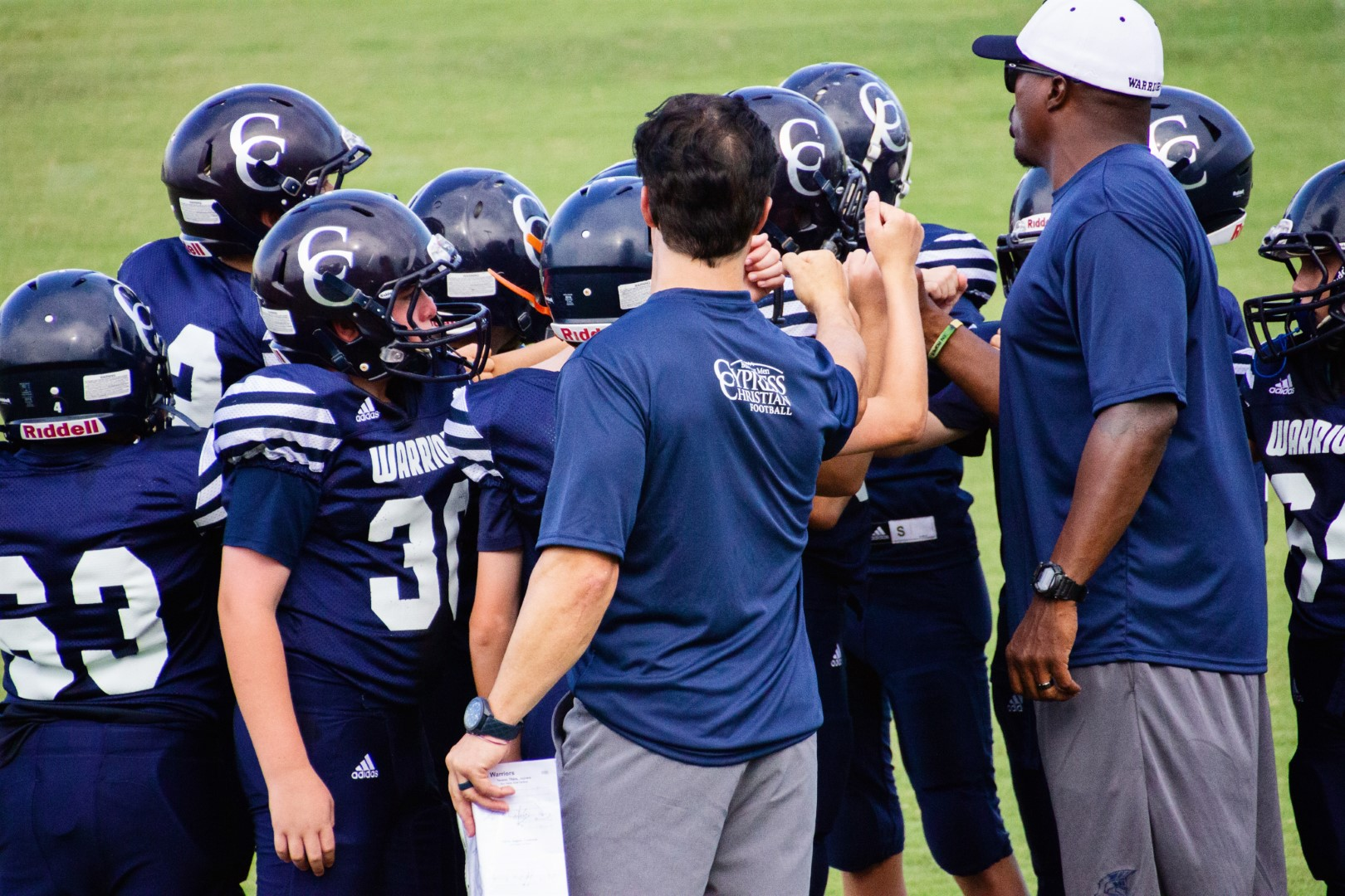 MS Football A Team Tested & Remains Unbeaten