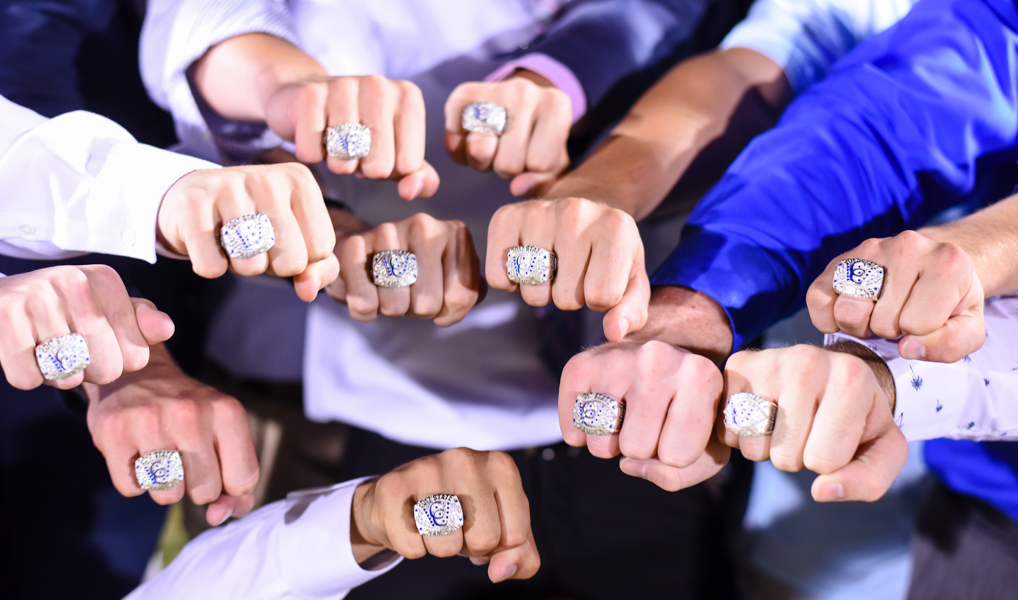 Football State Championship Ring Ceremony