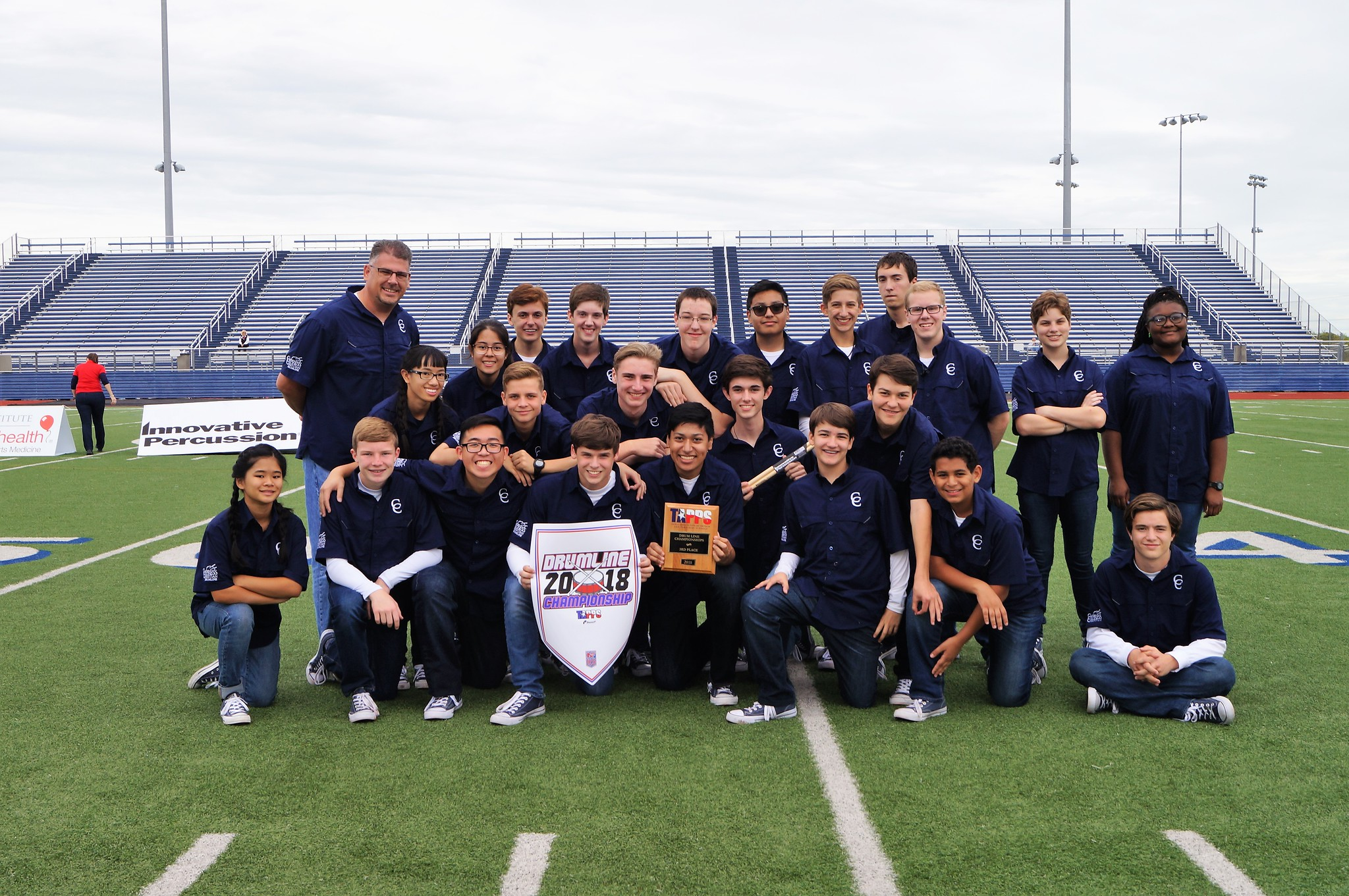 Warrior Drumline Competes in TAPPS Competition