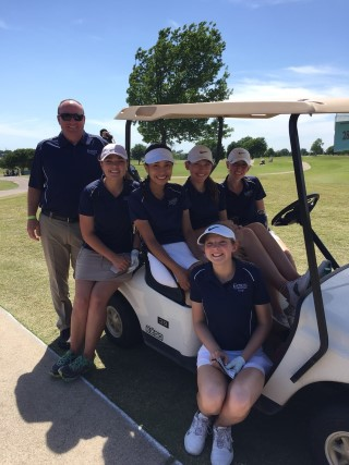 Lady Warriors Golf Places Fifth at State Tournament