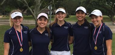 Lady Warrior Golf Team Qualifies for State Tournament