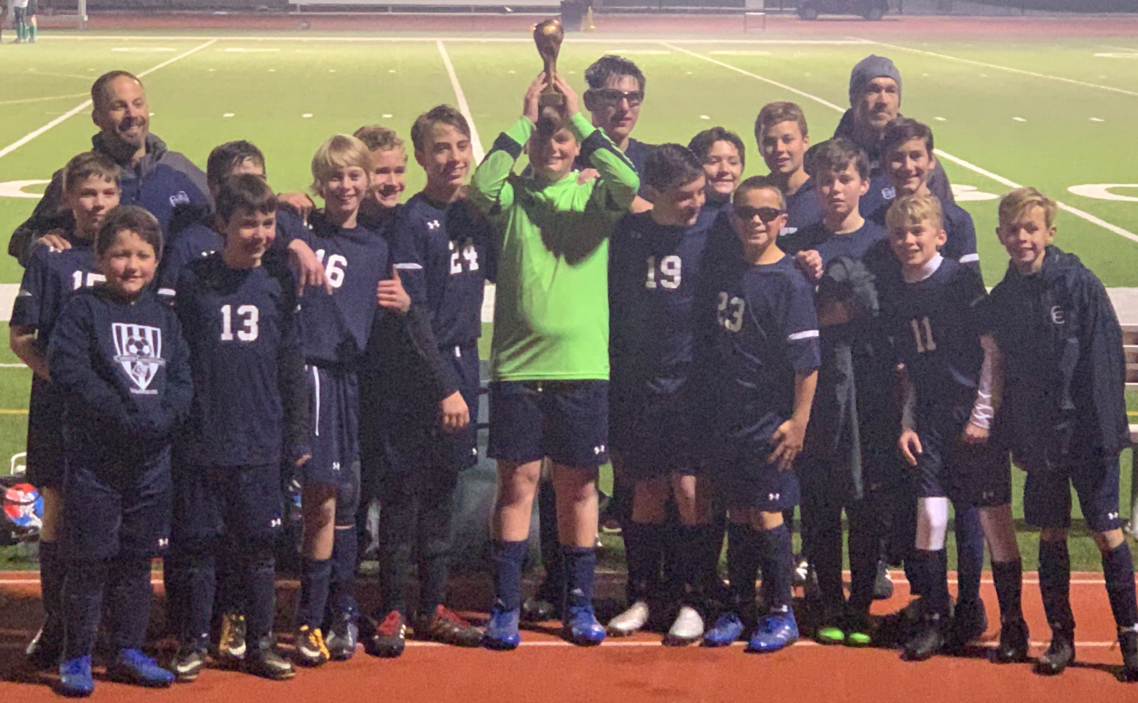 MS Boys Soccer Wins District Championship