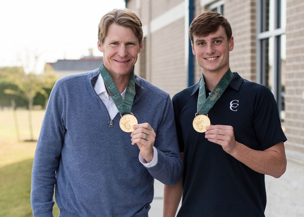 Olympic Gold Medalist Speaks in Chapel