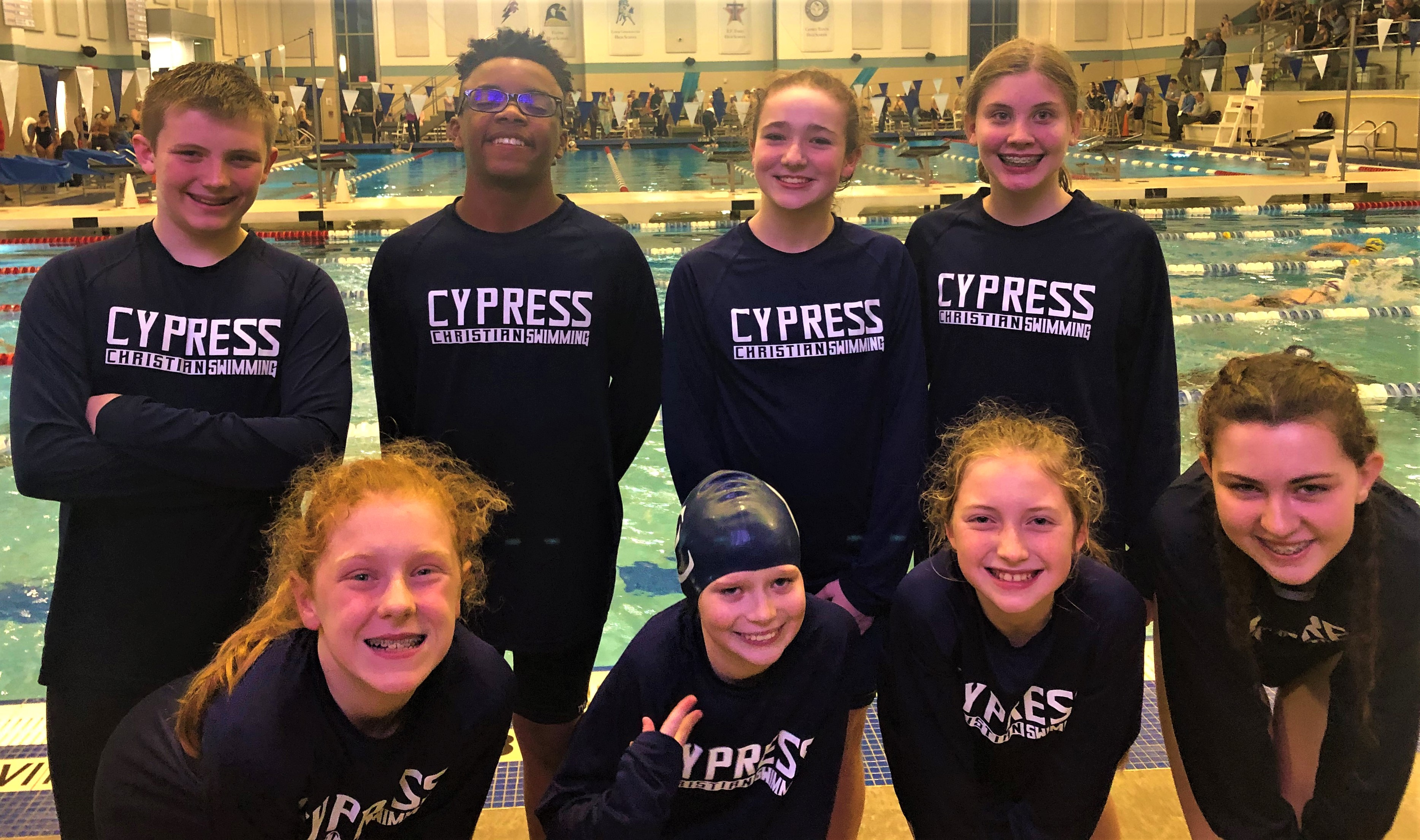 MS Swim Competes Well in Inaugural Season