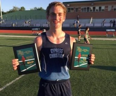 Boys Track Wins Meet and Baldwin Earned MVP