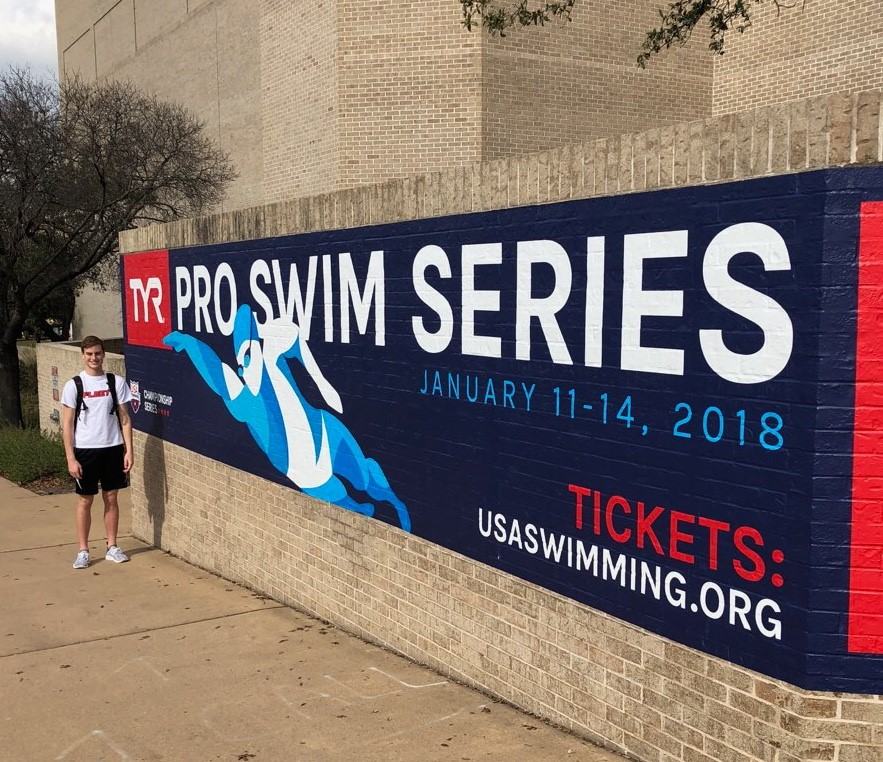 Elliott Jones Competed in the TYR Pro Swim Series