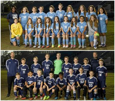 MS Soccer - Girls are District Champs, Boys are Runners-Up