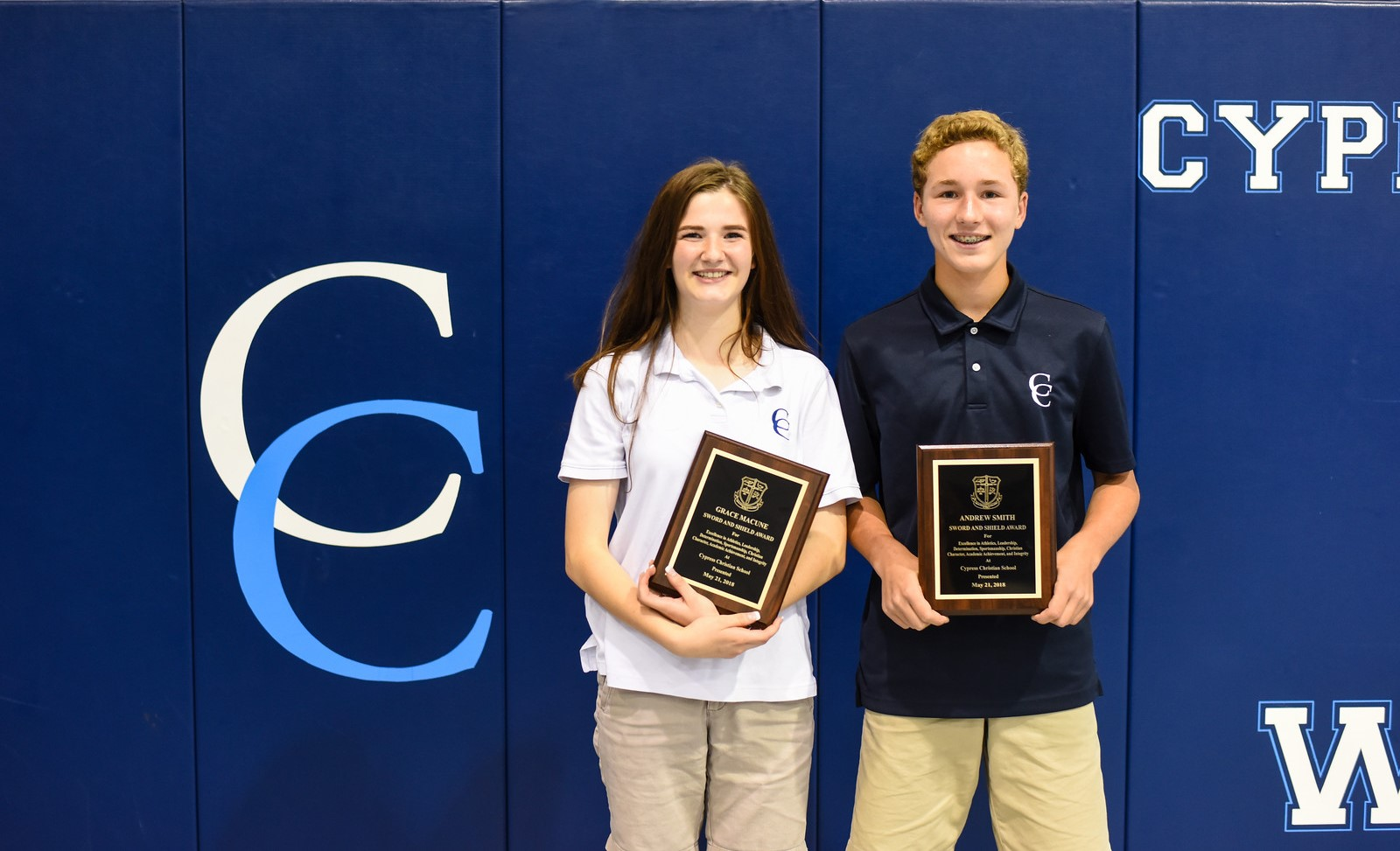 2018 Middle School Awards