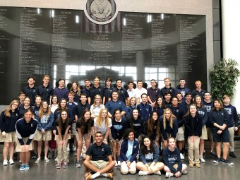 Senior Class Visits George H.W. Bush Library