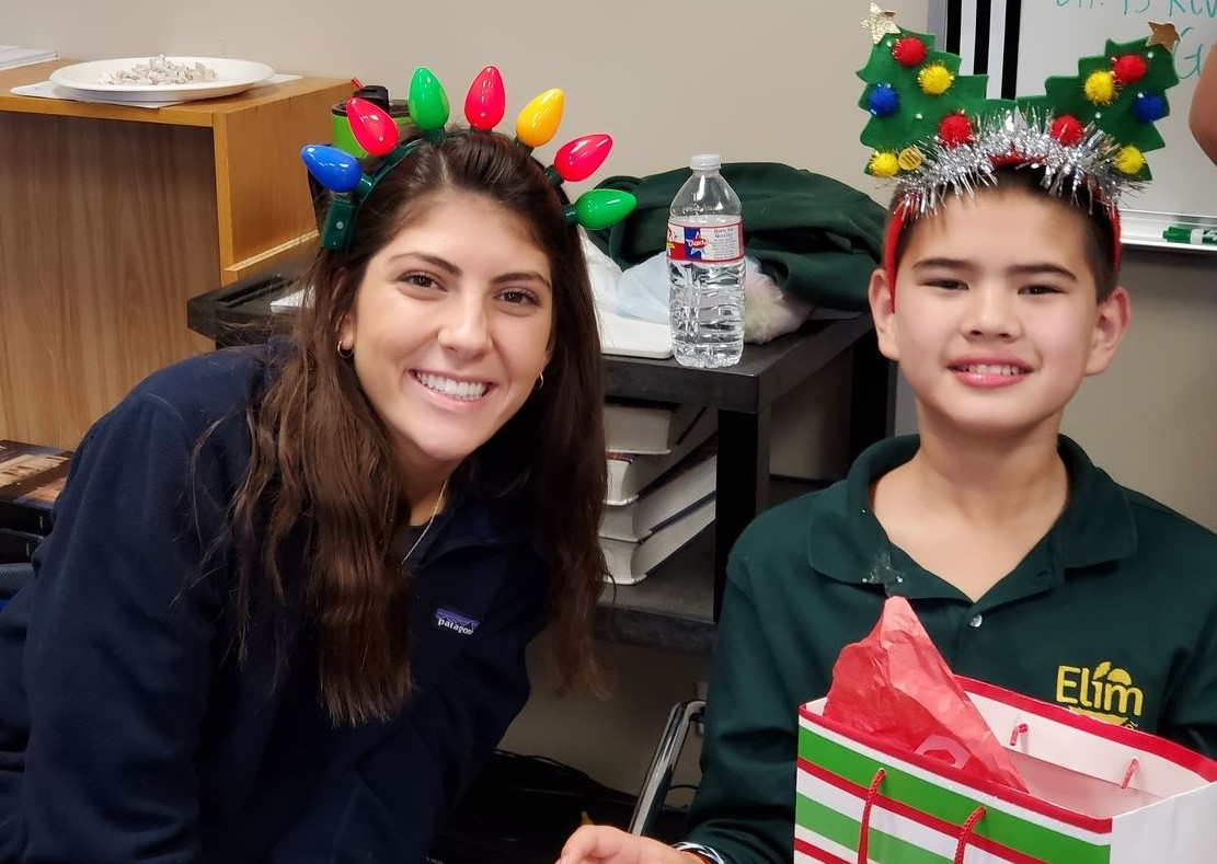 Warrior Tribe Hosts Christmas Party for Elim Christian School