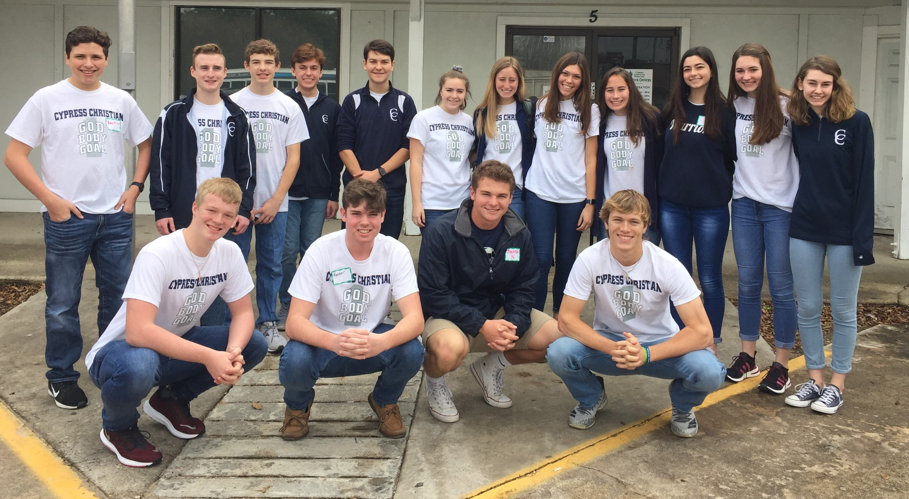 Warrior Tribe Serves Cypress Assistance Ministries